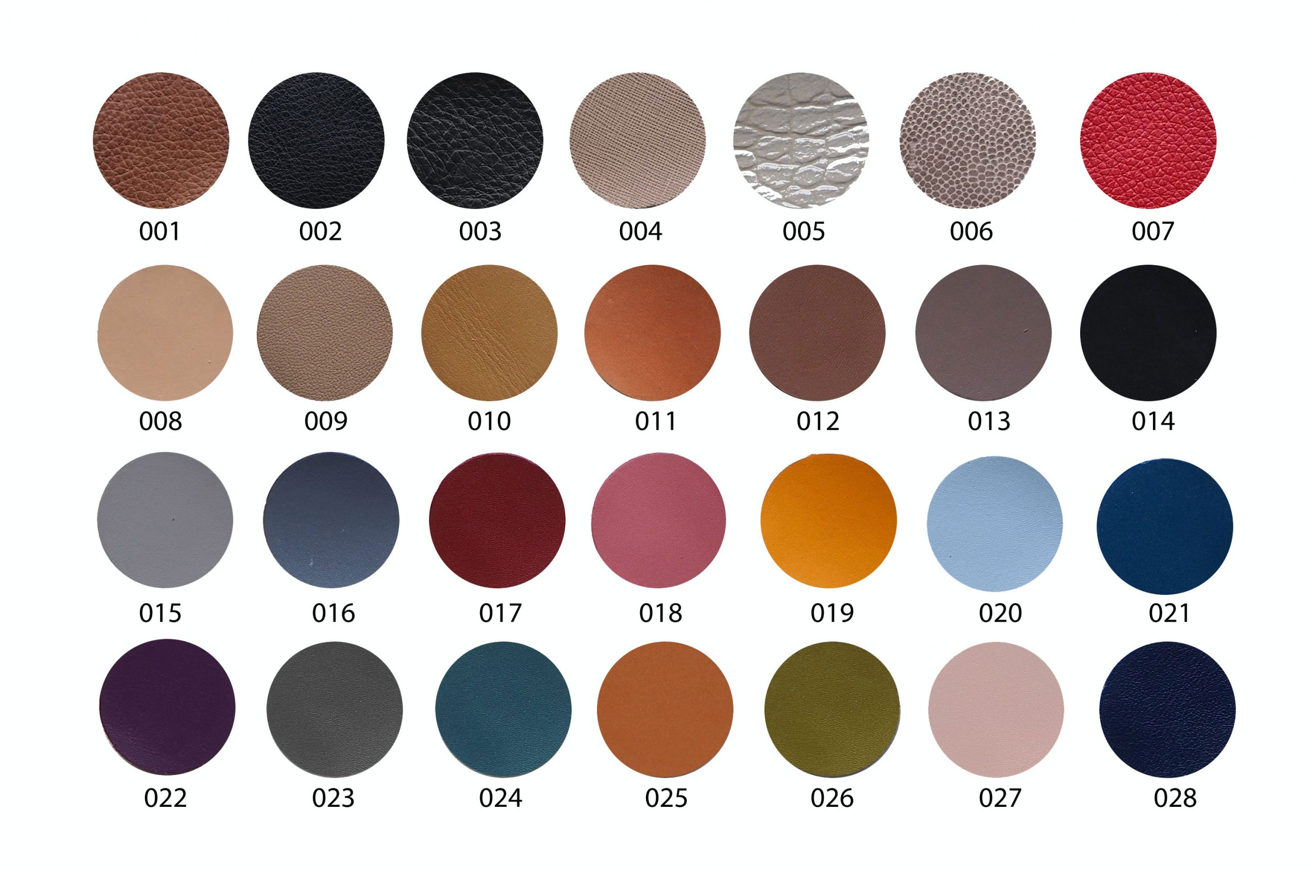 Bảng màu da sản phẩm